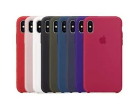 Funda Iphone X Xs Apple Original Silicona Case Colores Varios