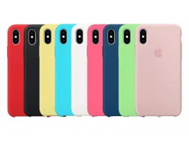 Funda Iphone X XS Max Apple Original Silicone Case Colores