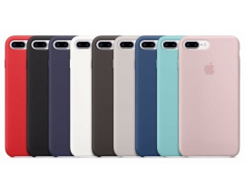 Funda Iphone 7/8 Plus Apple Original Silicone Case Colores