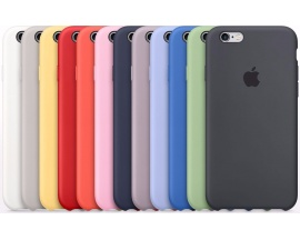 Funda Iphone 6 6s Plus Apple Original Silicone Case Colores