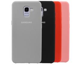 Funda Galaxy J6 2018 J600F J810F Silicone Varios Colores