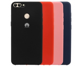 Funda Huawei P Smart Silicone Case Varios Colores