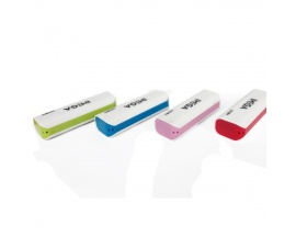 Power Bank IMEGA 3600 mAh LED light Varios Colores