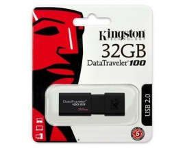 Pendrive Kingston 32GB DataTraveler 100 G3 3.1 Gen 1
