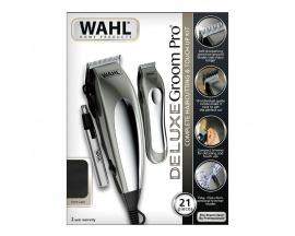 Cortadora de pelo Wahl Groom Pro Deluxe 21 accesorios