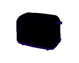 Tostadora YELMO 6 niveles de potencia 700w