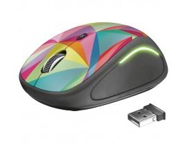 Mouse Trust Wireless Yvi Fx Multicolor