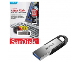 Pendrive Sandisk 64 GB Ultra Flair  USB 3.0 Flash Drive