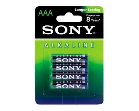 Pila Alcalina Sony AAA AM4 LR03 x4 1.5 v