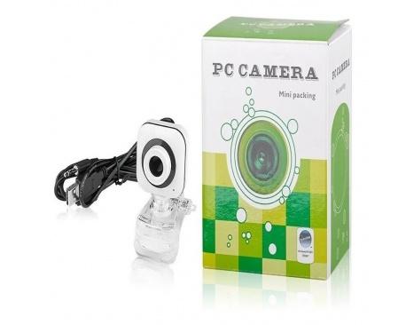 Webcam Camara Web p/pc con microfono USB 2.0 Windows