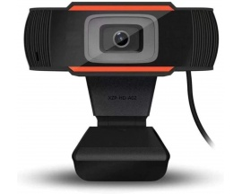 Webcam Full HD 1080p c/ Microfono Clip Videollamadas Pc Windows