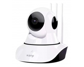 Camara Ip Wireless Kanji Kj-camip1mx2 Grabacion Hd 3 Antenas
