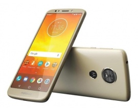 Celular Motorola E5 XT1944-3 Dorado 16gb Lector de huella Android