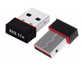 Adaptador Red WiFi USB Nano 300m  64/128bits