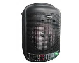 Parlante Portatil Bluetooth Buba Plus Micofono Luces Display digital USB