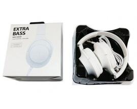 Auriculares Extra Bass Vincha MDR-100AP Stereo Manos Libres Blanco