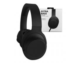 Auriculares Extra Bass Vincha Gaming Stereo Manos Libres Negro MDR-100AP