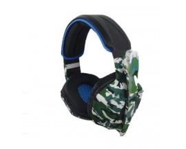 Auricular Game  Z-14 Camuflado p/ PC Playstation 3/4/5 Xbox Headset Audifono