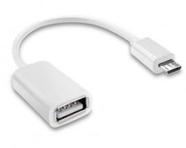 Cable Adaptador Otg Mini Usb 2.0 M a Hembra p/ Samsung
