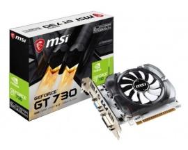 Placa de Video Gamer MSI Nvidia Geforce GT730 4GB DDR3  PCI-E2.0 HDMI DL-DVI