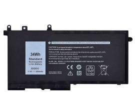 Bateria p/ Dell Latitude E5580, E5480, E5280, DELL M3520, M3530 3DDDG 34WH