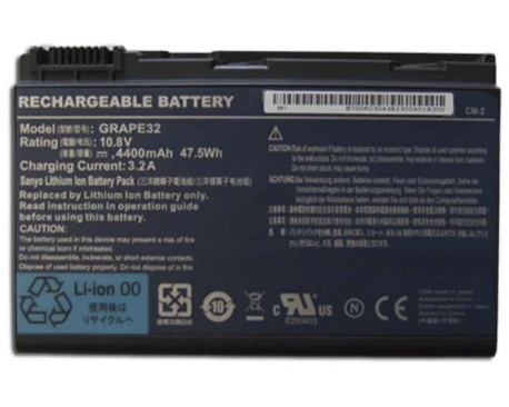Bateria Original  Acer Travelmate 5220  Garantia 6 Meses