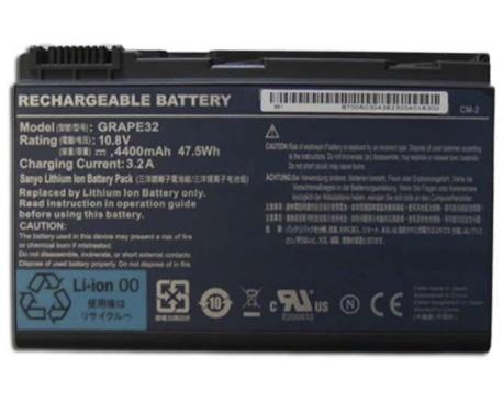 Bateria p/Acer Travelmate 5220  5230 5530 Series 5200 mAh