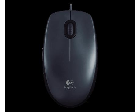 Mouse LogiTecladoh M100 Usb Garantia 6 Meses