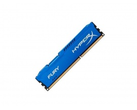 Memoria PARA PC 8GB HYPERX FURY BLUE DDR3 1600 PC3-12800 1.5V