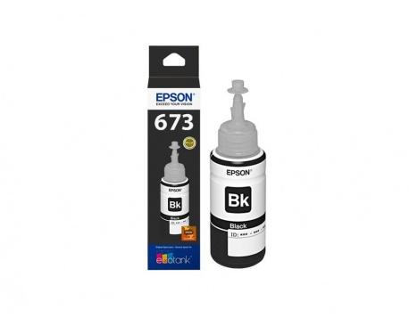 Tinta Original Epson T673120 Negro Garantia 3 Meses