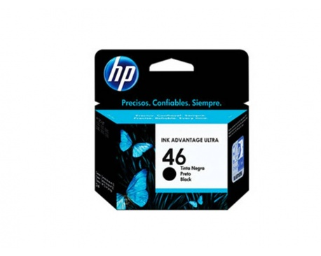 Cartucho Original HP 46 Negro