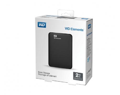 Disco Portatil Externo Wd Elements 2.5 2tb