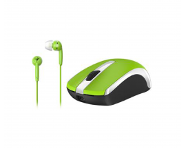 Mouse Combo Kit MH-8100 + Auriculares Genius Color Verde