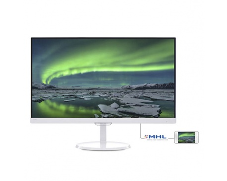"Monitor Phillips LED 23"" 237E7QSW FHD HDMI VGA DVI-D"