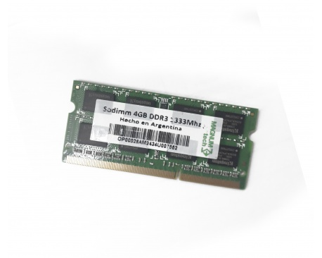 Memoria 4 GB DDR3 P/ Notebooks PC3-10600 1333 MH