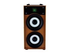 Parlante Portatil Mow! S245 Bluetooth Radio Fm USB Luces
